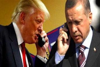 در گفتوگوی تلفنی اردوغان و ترامپ چه گذشت؟