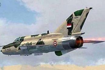 مواضع تروریست ها در ادلب بمباران شد
