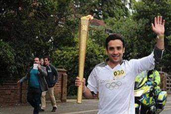 مشعل المپیک ۲۰۱۲ به برج میلاد میآید