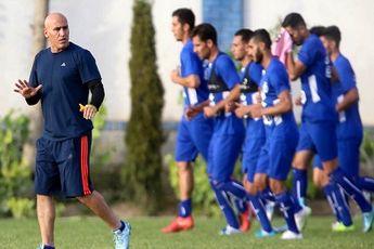 تمرین استقلال پشت در های بسته / عبداللی و زرندی در قرعه کشی جام باشگاه ها