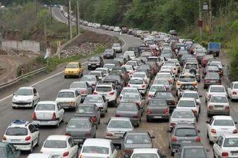 ورودی مازندران با ترافیک سنگین مواجه است