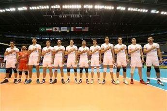 برنامه دیدارهای تیم ملی والیبال ایران در لیگ جهانی