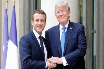 ترامپ و مکرون درباره مسائل ایران گفتگو کردند