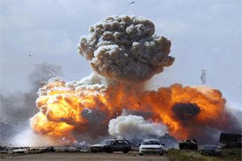 انهدام هفت خودروی نظامی سعودی در مرز یمن