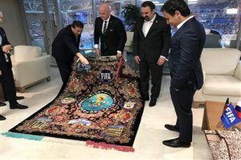شگفت زده شدن رئیس فیفا از بازی ایران