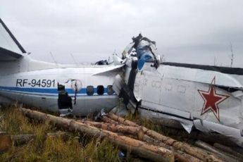 سقوط هواپیما در روسیه