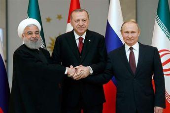 """""""تهران"""" میزبان اجلاس سران ایران، روسیه و ترکیه"""