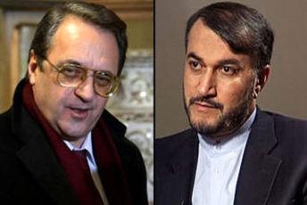 رایزنی مسئولان وزارت خارجه ایران و روسیه در تهران درباره سوریه
