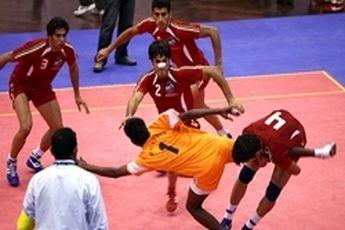 برتری تیم ملی کبدی ایران در دومین دیدار