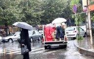 بارش پراکنده باران امشب در برخی نقاط استان تهران