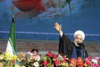 رئیس جمهور وارد چابهار شد / بازدید روحانی از طرح توسعه بندر بهشتی