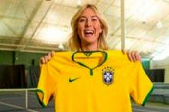 شاراپووا حضور داوید لوییز در تیم ملی برزیل را تبریک گفت