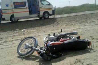 برخورد موتور سیکلت با پژو به مرگ راکب منجر شد