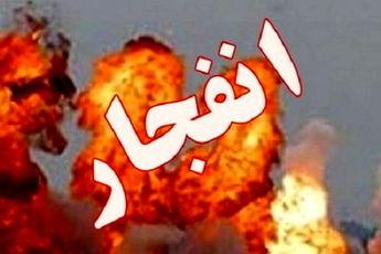 2 مصدوم در انفجار خودروی نیسان در جایگاه سوخت CNG خوزستان