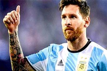 محرومیت سه ماه مسی از بازیهای ملی