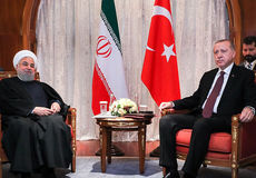 دیدار روحانی و اردوغان در حاشیه اجلاس سوچی