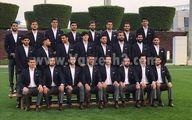 رونمایی از لباس تیم ملی در امارات