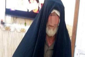 بازداشت سرکرده داعشی با لباس زنانه در موصل