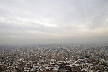 هوای تهران در وضعیت هشدار قرار گرفت
