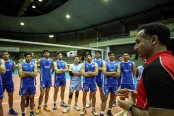 مرحله دوم اردوی تیم ملی والیبال «ب» با ۴ تغییر پیگیری می شود