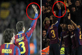 تکرار تاریخ برای پیکه پس از پیروزی برابر رئال مادرید