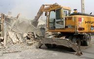 تخریب 9 ساختمان در حاشیه رود دره فرحزاد