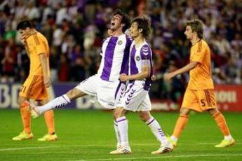 وایادولید شانس قهرمانی رئال مادرید را کم رنگ کرد