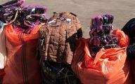 دو محموله کالای قاچاق در مراغه توقیف شد