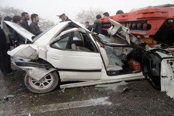 آمار روزانه تصادفات در تهران