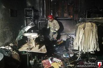 انفجار مهیب در مغازه خشکشویی