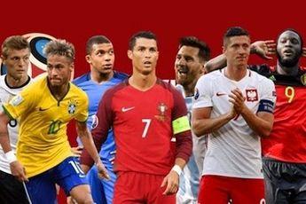 انتخاب بهترین بازیکنان جام جهانی تا روز سیزدهم