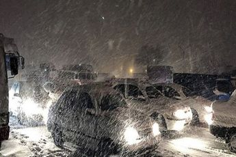 وقوع برف و کولاک در 22 استان کشور