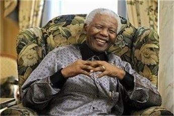 بهبود شرایط جسمانی ماندلا در جشن تولد ۹۵ سالگی