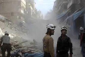 کلاهسفیدها از سوریه خارج شدند