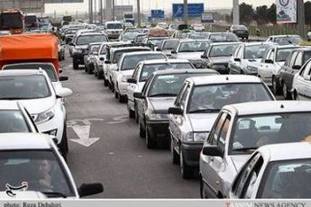 ترافیک پرحجم در جاده های شمالی کشور