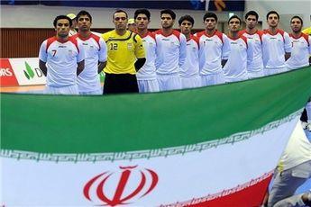 تیم ملی فوتسال ایران به نیمهنهایی رسید