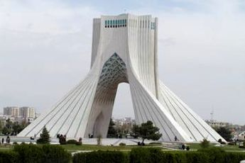 نمایی دیدنی از فراز تهران + عکس
