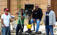 حضور یک مسئول ورزشی در پشت صحنه فیلم «سونامی»