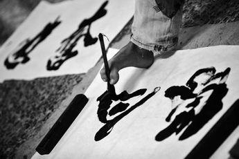هنرمند معلول چینی + عکس