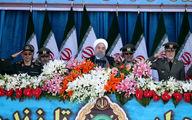 روحانی: اقتدار نیروهای مسلح به رعایت توصیههای امام راحل و رهبر انقلاب و دوری از بازیهای سیاسی است