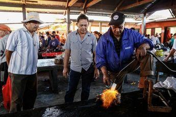 فروشگاه مواد غذایی عجیب در اندونزی / فیلم