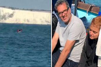ماهیگیر بریتانیایی 4 پناهجوری سرگردان ایرانی را نجات داد