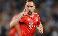 ریبری شاید فینال جام حذفی آلمان را از دست بدهد
