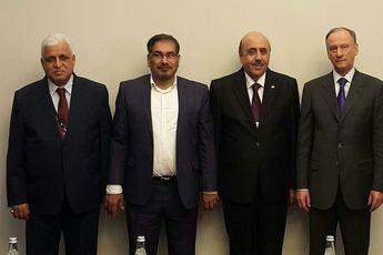 اولین نشست مسئولین نهادهای امنیت ملی کشورهای عضو ائتلاف ضد تروریسم هم پیمان سوریه