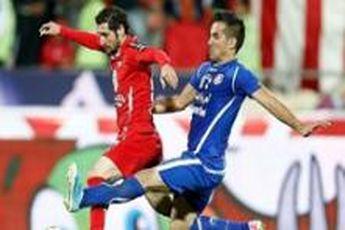 پیروزی پرسپولیس مقابل داماش در نیمه اول