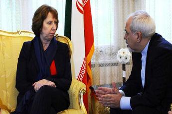 ظریف و اشتون دیدار کردند / مذاکرات ایران و ۱ + ۵ تا ساعاتی دیگر آغاز می شود
