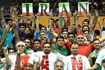 بازی والیبال بین تیمهای ایران و آلمان آغاز شد