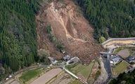 رانش شبانهی زمین در ژاپن 6 نفر را مدفون کرد