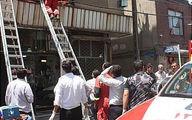 سقوط زن 38 ساله از طبقه چهارم یک ساختمان