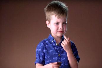 خوردن شکلات تلخ و واکنش جالب کودکان / فیلم